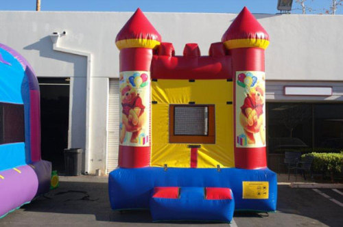Inflatable Winnie Bouncy Castles
