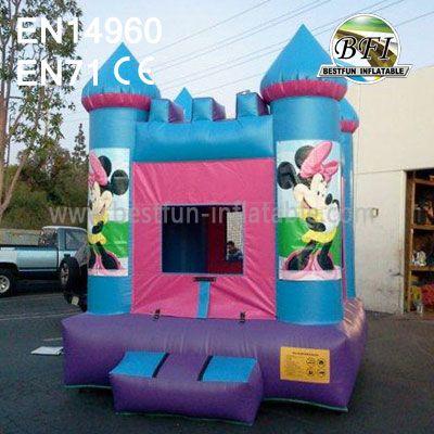 Inflatable Minnie Mouse Moonwalks
