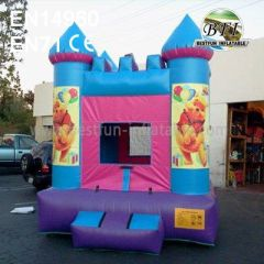 Blue Inflatable Bounce House Winnie
