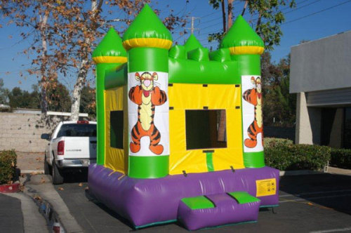 Inflatable TigerBounce House With Website