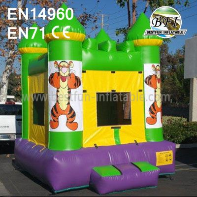 Inflatable Tiger Bouncer For Sale
