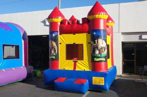 Madagascar Inflatable Bouncy House