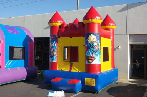 Superman Bounce House Holiday Inflatables