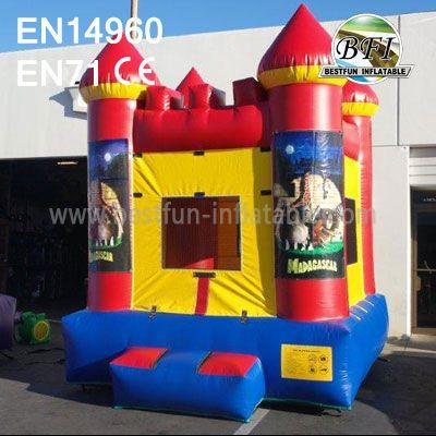 Inflatable Madagascar Bouncy Castle
