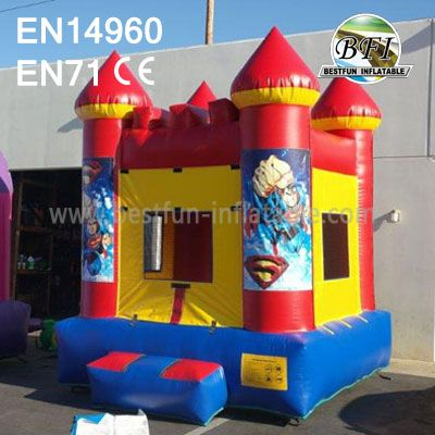 Party Inflatable Superman Bouncer For Sale
