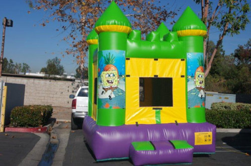 Inflatable Spongebob Bouncer Commercial Toys