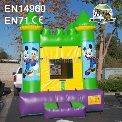 Donald Bouncy Castles Inflatable With Website
