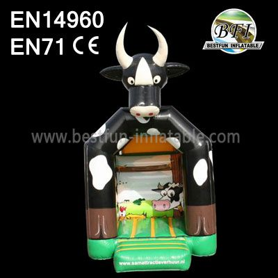 New Children Inflatable Cows Bounce House