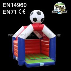 Jump And Fun Football Inflatables Bouncer