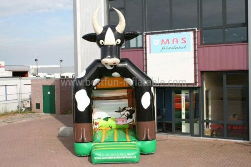 Inflatable Cushion Cows Bouncer
