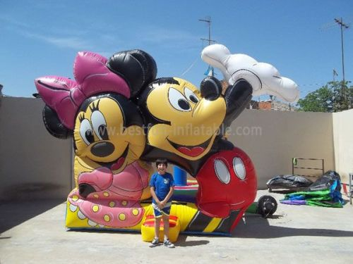 Inflatable Mickey Mouse Bouncer