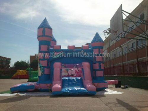 Big Inflatable Princess Bouncy Castle