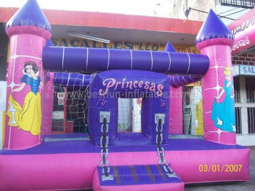 Inflatable Princess Castle Bed