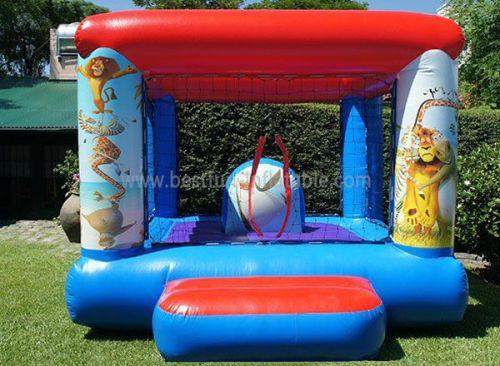 Madagascar Party Bounce House
