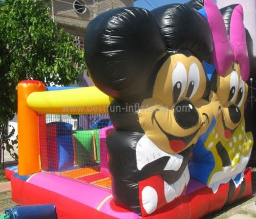 Inflatable Mickey Bounce For Park Ground