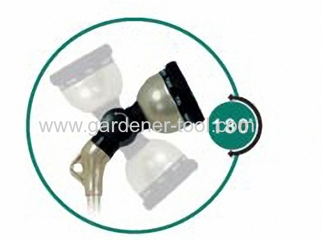 Plastic 10-function 28garden water wand with 180 degree universal head