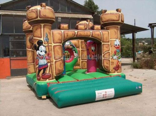Mickey Inflatable Moon Jumps Childrens Park