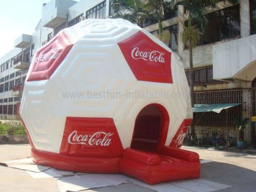 Coca Cola Football Inflatable Bouncer For Kids