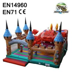 Castle Inflatables Outdoor Toys
