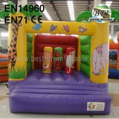 Jungle Theme Moonwalk Party Inflatable Bouncers