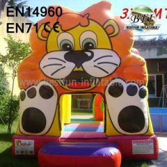 Cute Tiger Moon Bounce For Sale