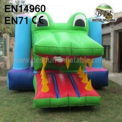 Renting Bouncy Castles With Alligator Mouse