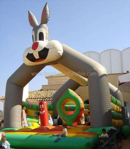 Rabbit Moonwalks Inflatable Bouncy Party Rentals