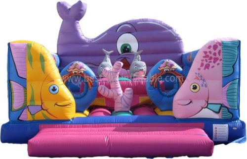 Sea World Inflatable Bouncy House For Sale