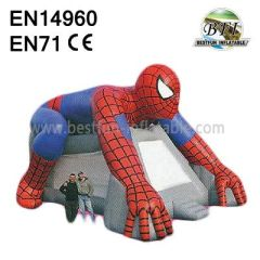 Outdoor Huge Inflatable Spiderman Bouncer