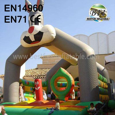 Party Rabbit Bounce Castle