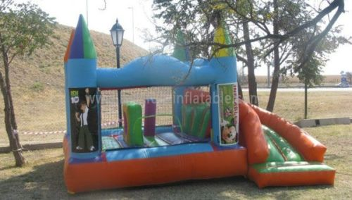 Commercial Ben 10 Blow Up Bounce House