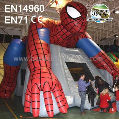 Big Spiderman Bouncy Castle