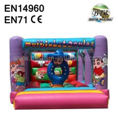 Multi Obstacles Inflatable Moonwalks