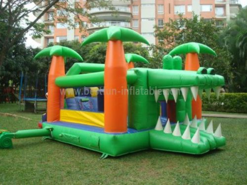 Alligators Kids Inflatables Combo Bouncy Castles