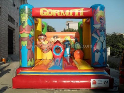 Full Printing Blow Up Bounce House Gormiti