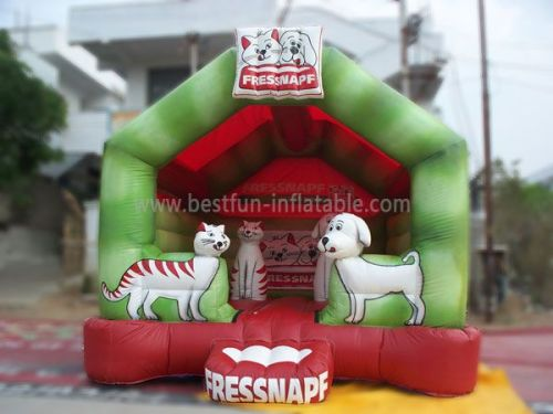 Outdoor Inflatables Fressnapf Castle Bounce House