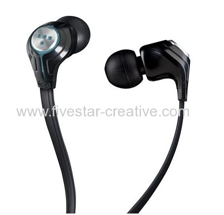 Monster TRON T3 Earbuds High Resolution In-Ear Headphones Black Stereo Earphones