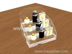 Deluxe cosmetic acrylic of display frame