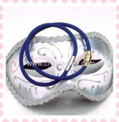 2013 Fashion silicone power necklaces