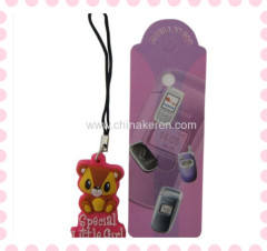 soft pvc 3d cartoon Mobile Pendant products