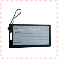 fashion pvc luggage tag Full Color Print fashional