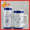 Bone China Office Mug with Insulation Effect