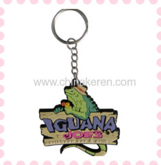 Custom promotional 3D soft pvc keychain