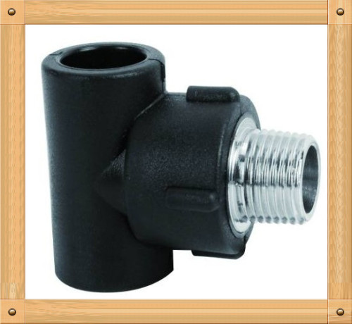 2013 hot sale HDPE male Tee HDPE 100 plumbing material From China