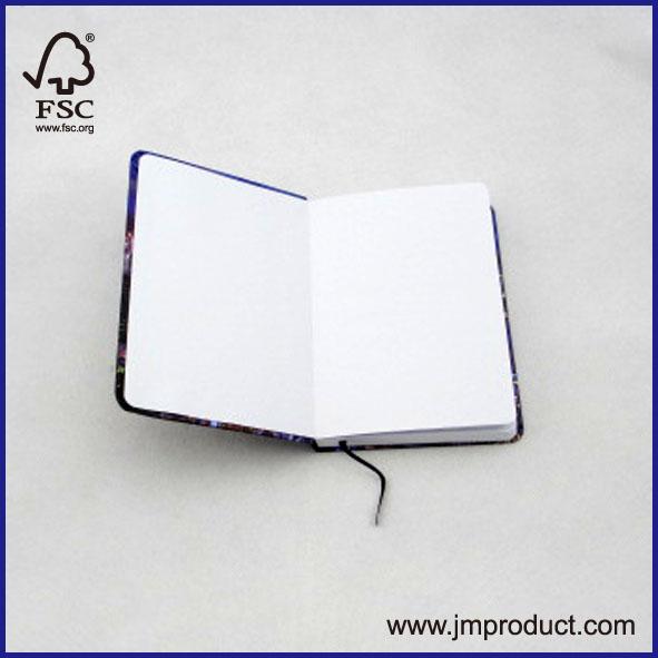 mini hard cover notepad