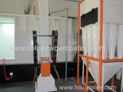powder spray paint booth