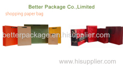Promotion paper shopping bags