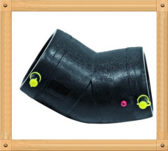 2013 hot sale HDPE Electrofusion Elbow 45D From China