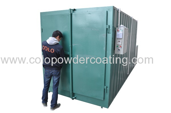 detachable powder paint booth