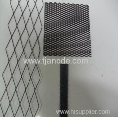 Titanium ribbon mesh anode used in Cathodic protection for Old Pipe